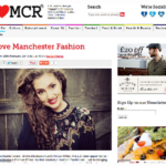 Becoming Fashion Editor for I Love Manchester in 2013.