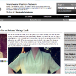 Written articles for Fashion Network UK & Manchester Fashion Network
