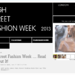 Official Blogger of High Street Fashion Week 2013