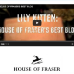 Winner of House of Fraser Best Fashion Blog 2014