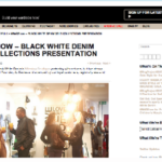 Black White Denim featured my blog post