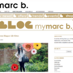 Regularly featured (x 5) on Marc B handbags website