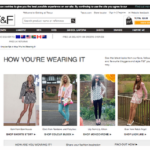 How You're Wearing It promo for Tesco Clothing/F&F