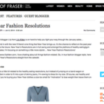 House of Fraser official blogger, Jan 2014