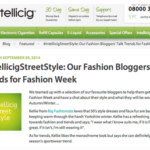 Fashion Week interview with Intelliciig