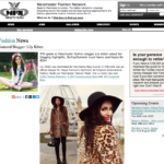 Feature Interview in Manchester Fashion Network, 2014