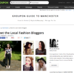 One of Groupon's top 4 Manchester Bloggers