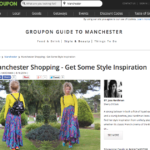 Groupon shortlisted in Manchester Shopping Inspiration article