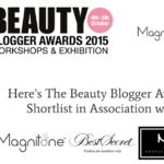 Shortlisted Best Use of Social Media, Beauty Blogger Awards 2015