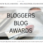 Shortlisted Best Longstanding Lifestyle Blog in the Bloggers Blog Awards 2015