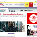 Manchester Confidential Top 3 Manchester Blogger (Jan 2016)