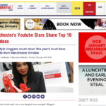 Manchester Confidential feature for #VloggerChristmasEdit