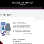 House of Fraser Official Blogger