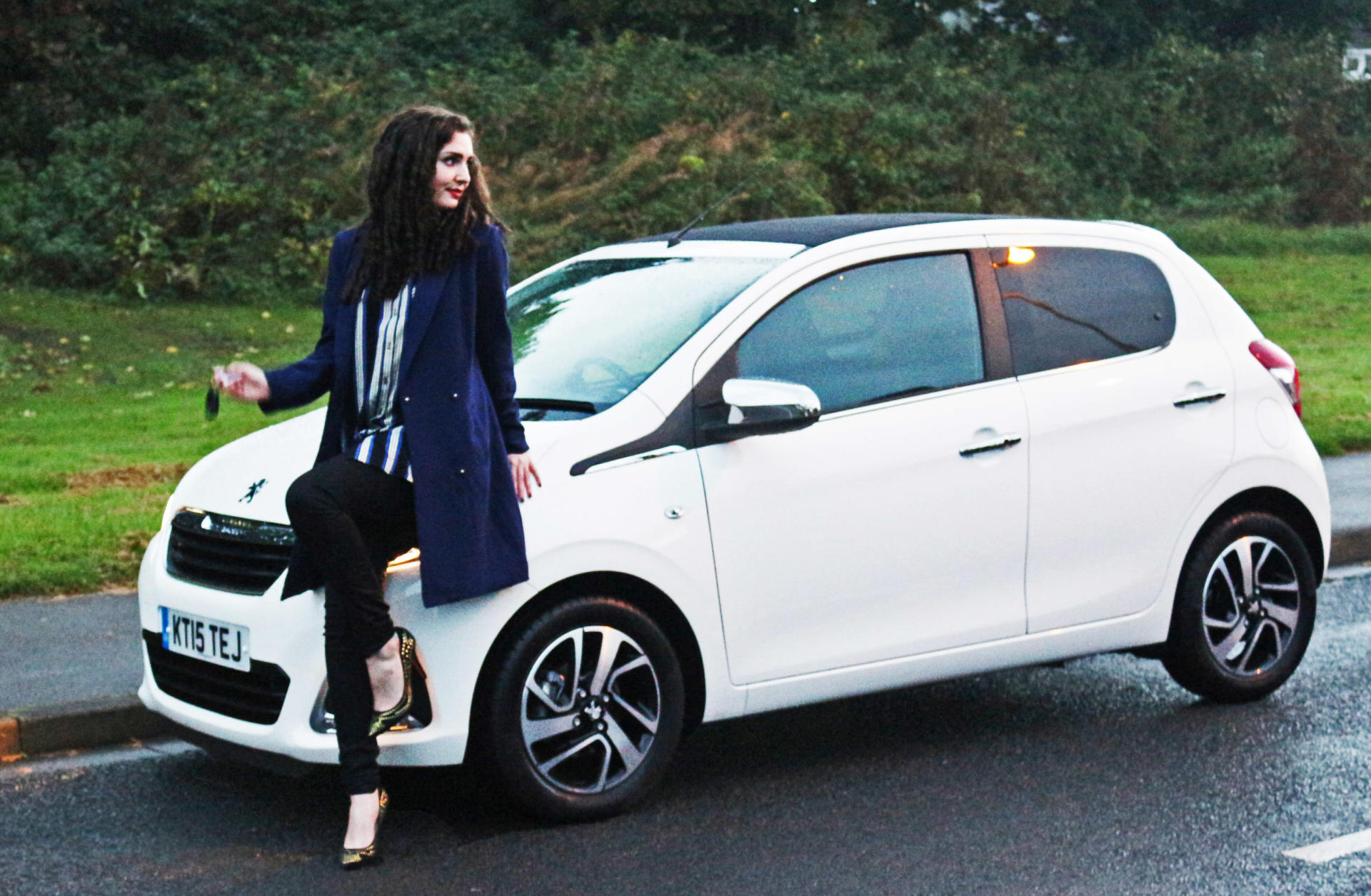 peugeot 108 | car review | lifestyle blogger lily kitten