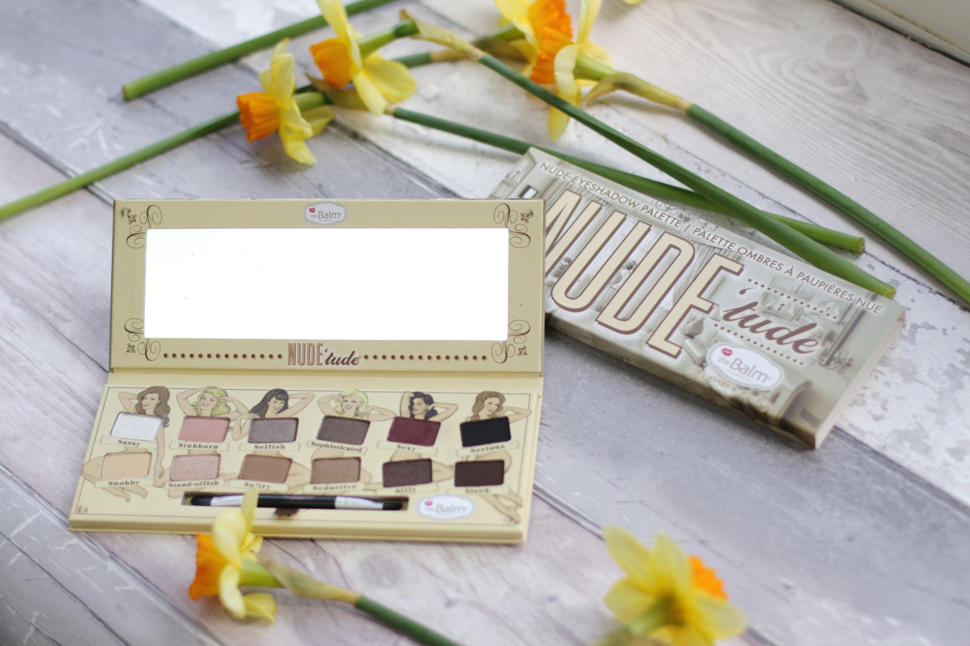 TheBalm Nude'tude Eyeshadow Palette Review and Swatches