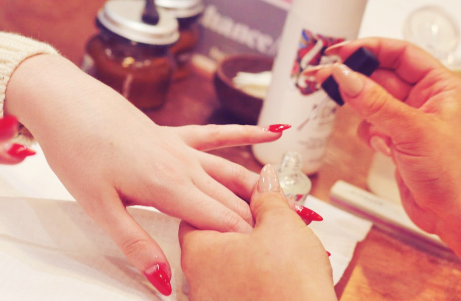 Acrylic Nails Manicure at barn//it Hairdressers and Beauty Salon, Manchester