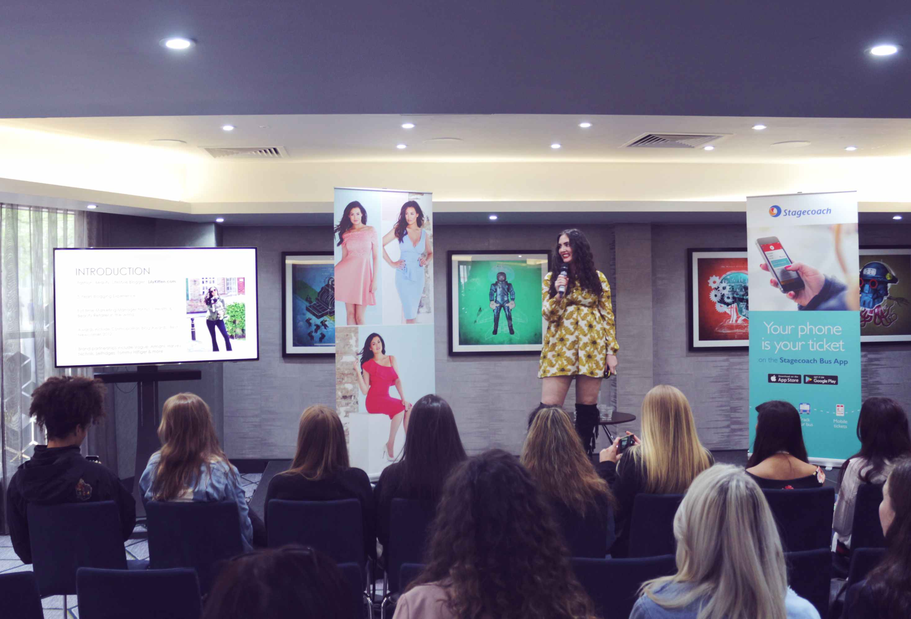 Squad On Board: Jessica Wright's Fashion Workshop With Stagecoach