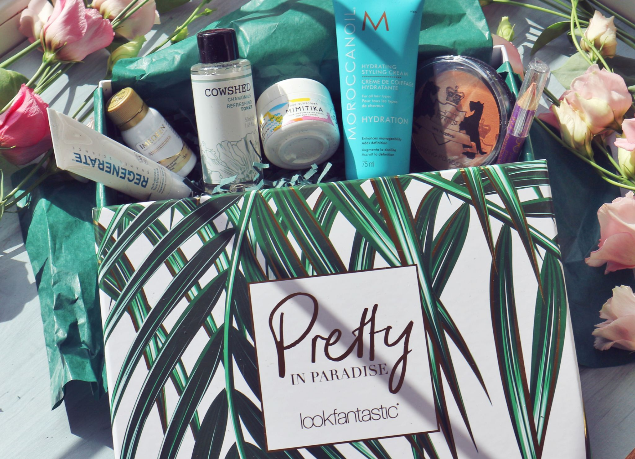 Lookfantastic Beauty Box July 2017 Pretty In Paradise_IMG_2552