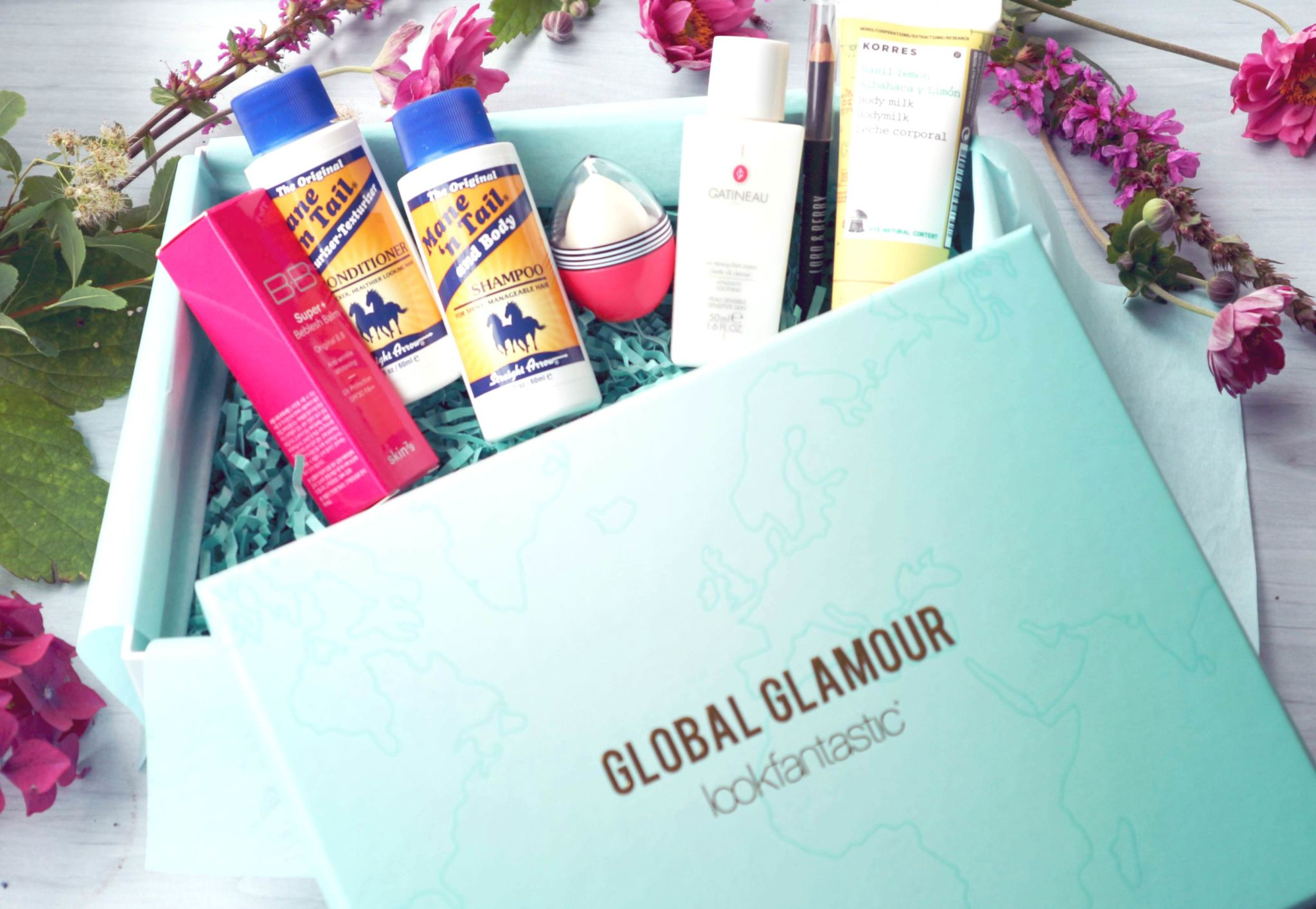 Lookfantastic Beauty Box August 2017 Global Glamour Unboxing Review